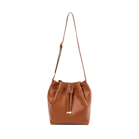 hobo bag da donna color cuoio